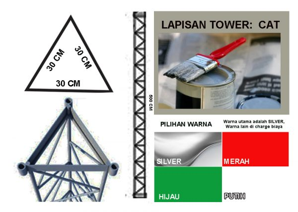 Tower Trianggle 30 Cat
